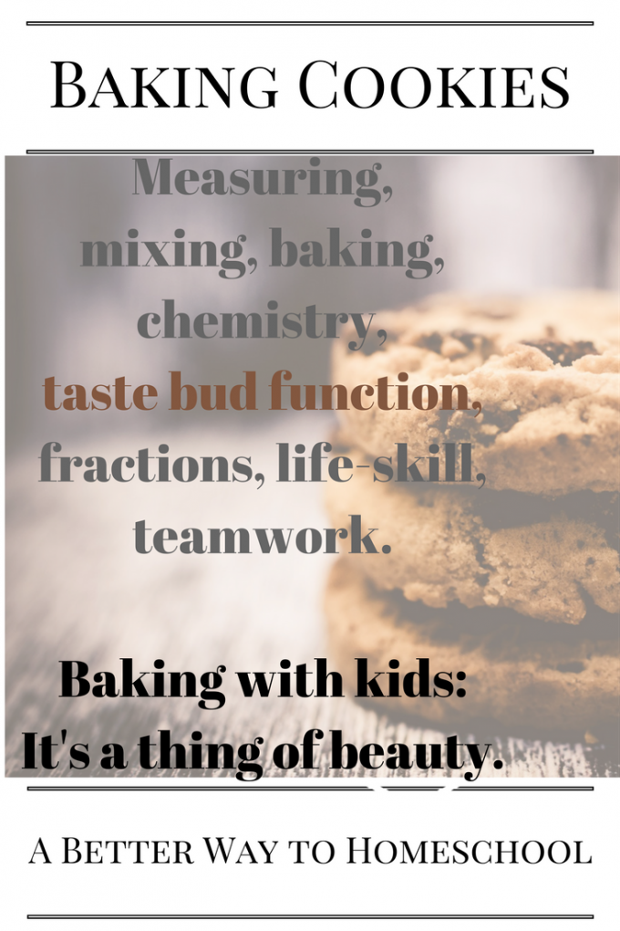 In a homeschool funk? Bake with your kids.