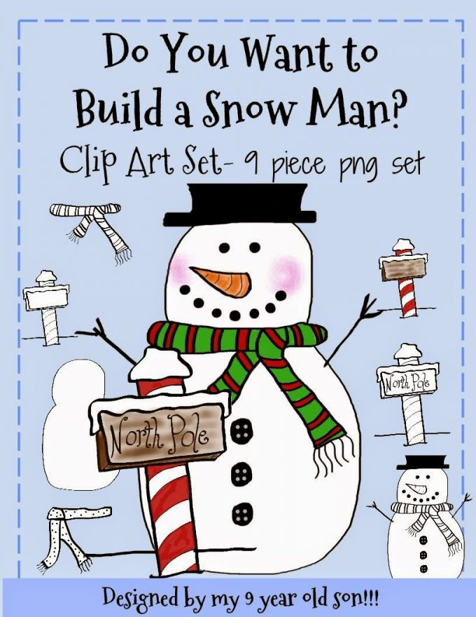 http://www.teacherspayteachers.com/Product/Do-You-Want-to-Build-a-Snowman-Clip-art-Set-1587268