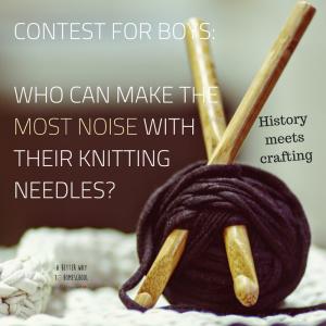#knitting #boyscanknit #readingactivities #quiettime