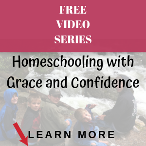 homeschooling with grace