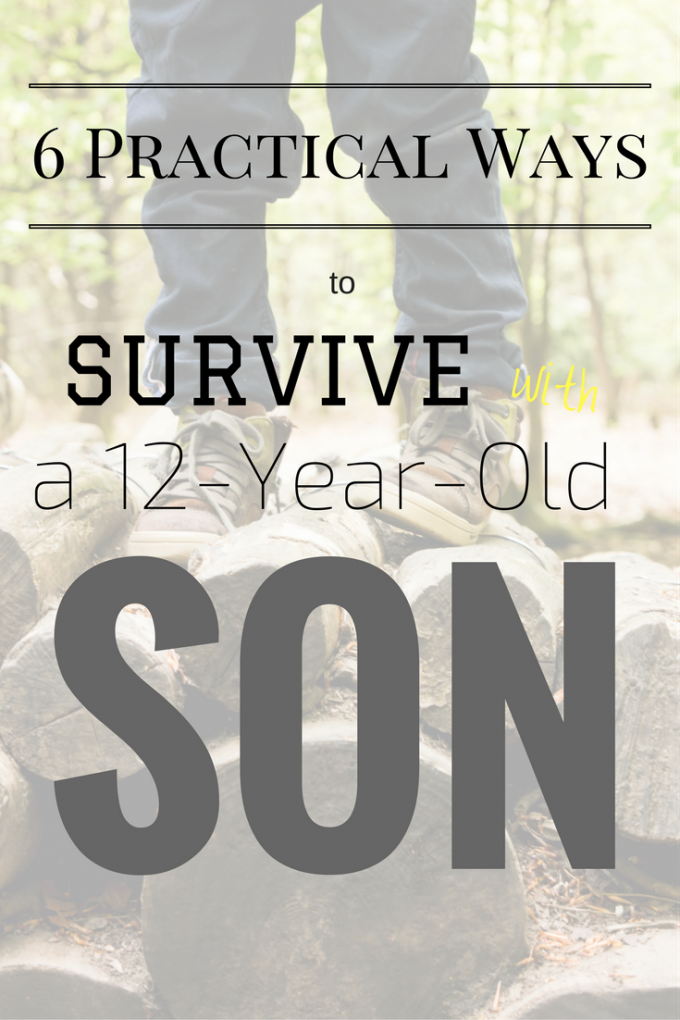 12-Year-Old sons test us to our limits. {Inside, get your survival guide/printable}