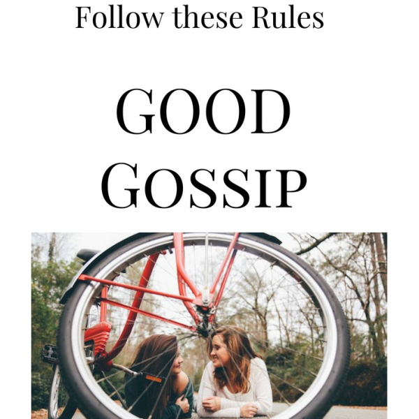 """Teach your kids to follow these """"Good Gossip Rules"""". {Freebie inside}"""