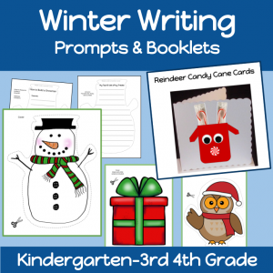 Winter Booklets and Writing Prompts Cover
