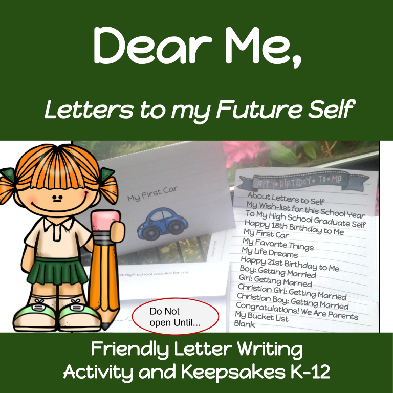 Kids Write Letter To Future Selves Friendly Letter Writing A