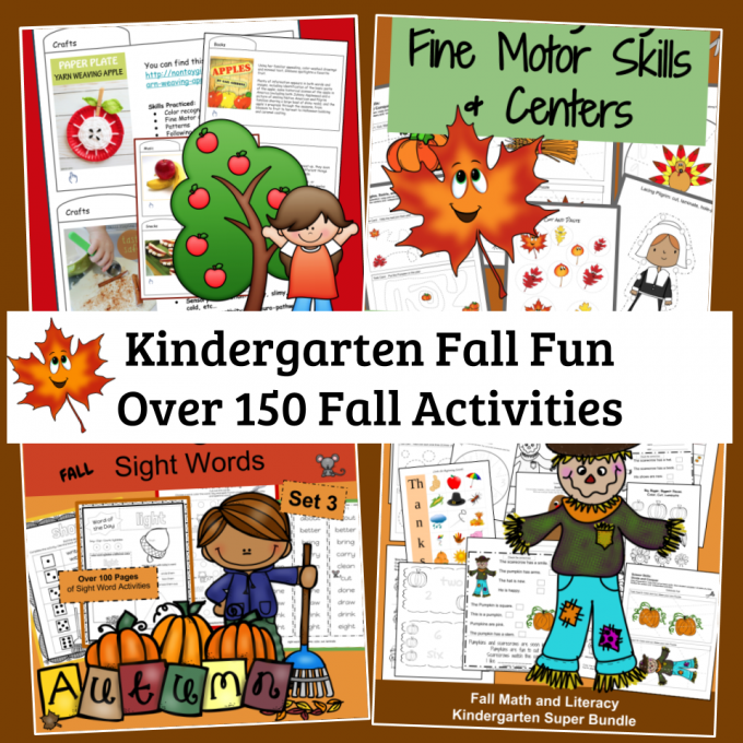 kindergarten fall