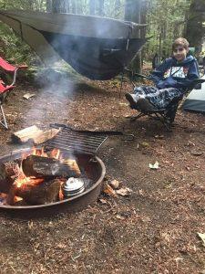 #camping #parenting #familytime #hammock