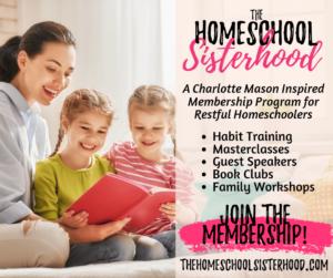 homeschool sisterhood
