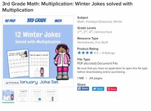 #multiplicationpractice