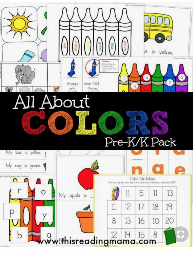 Teach kids colors