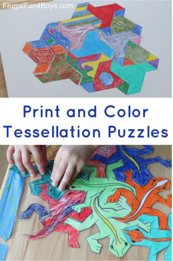 tessellation puzzles for kids