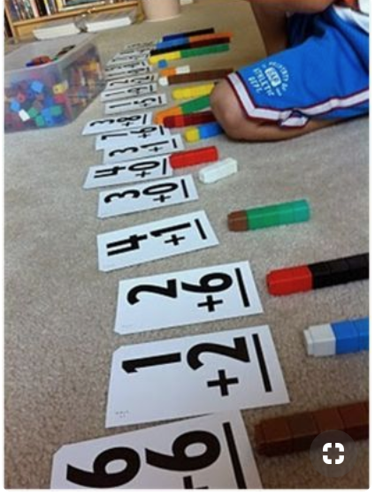 Teach addition and subtraction