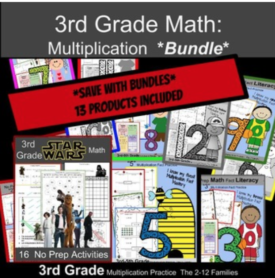 Teach multiplication and division