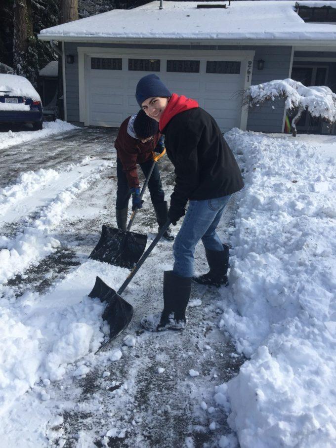 Snow day activites