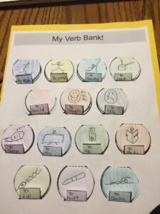 verb craft and activity