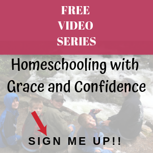 Homeschooling with grace and confidence