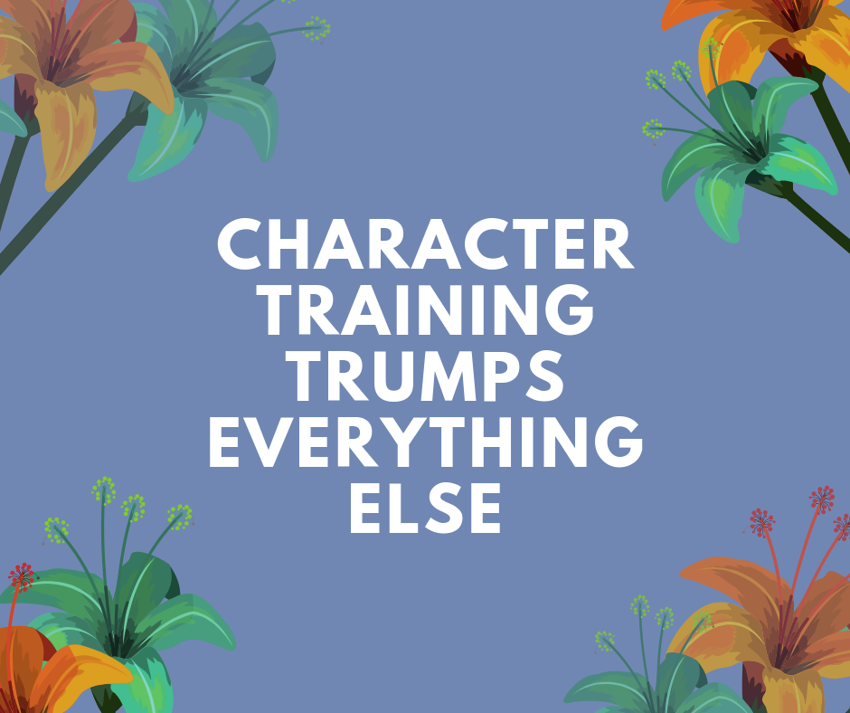 Character Training Resources are in HIGH Demand!