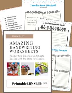 amazing handwriting worksheets