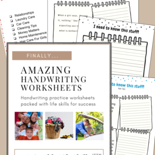 amazing handwriting worksheets