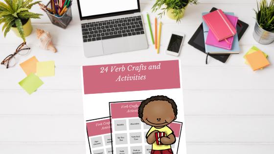 verb craft activity