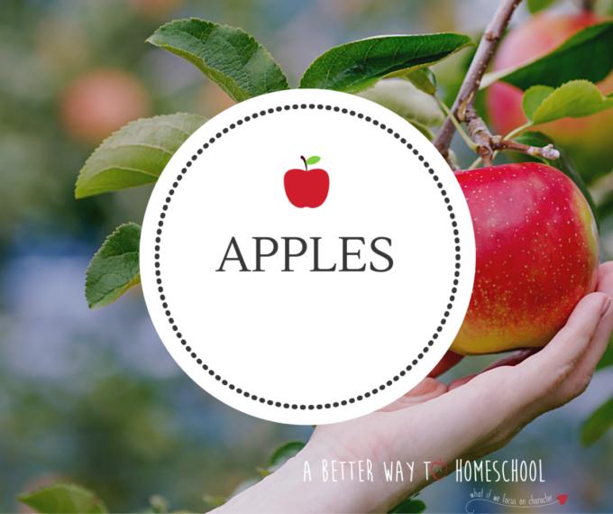 apple art preschool