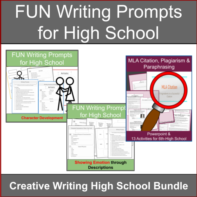 Fun writing prompts for High School