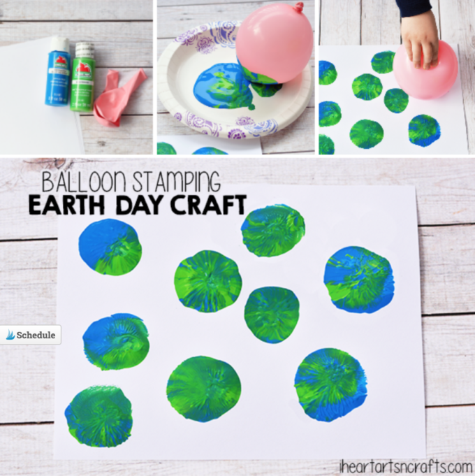 Preschool Earth Art