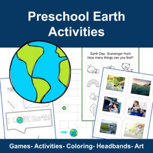 Preschool Earth Activities