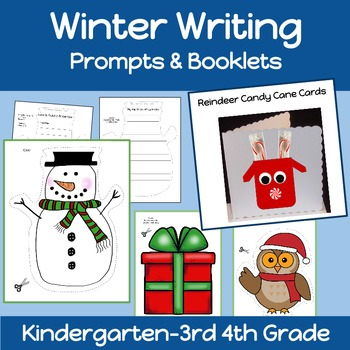 winter writing kindergarden