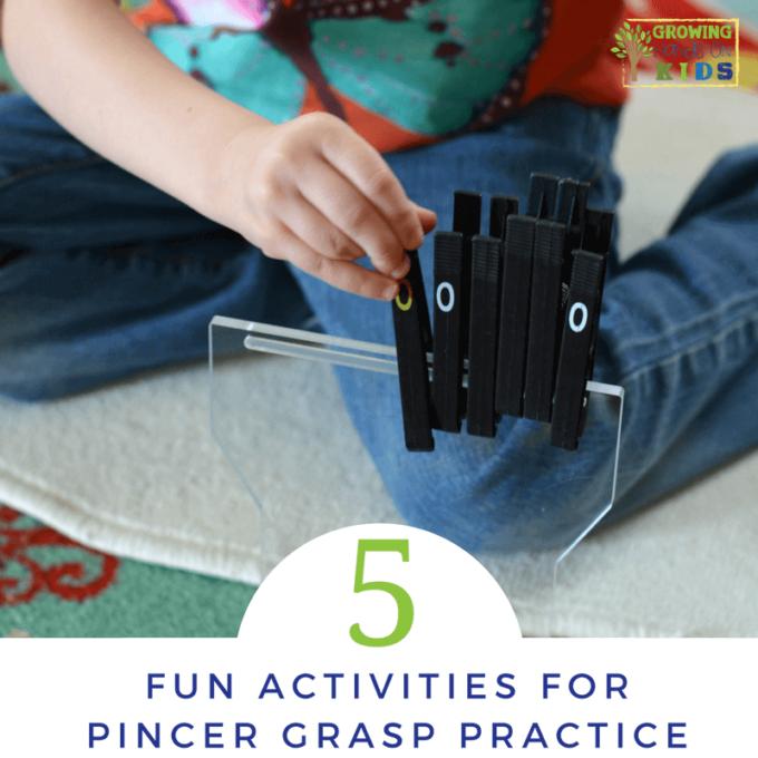 pincher grasp activities