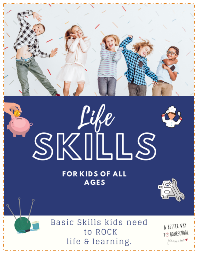 Life Skills for Kids of All Ages