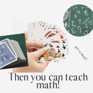best math card games