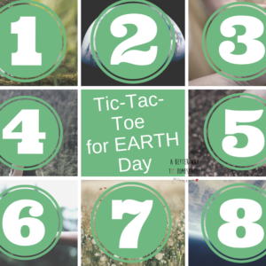 Earth day tic tac toe