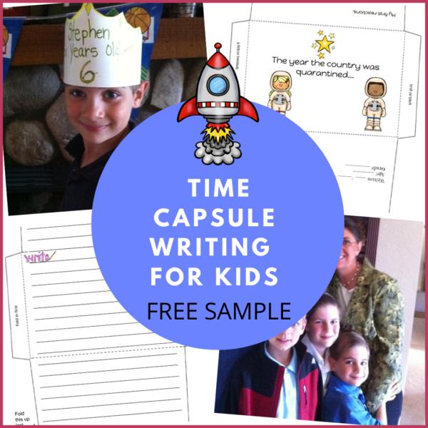 time caspule for kids