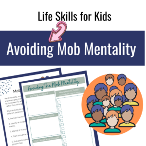 avoid mob mentality