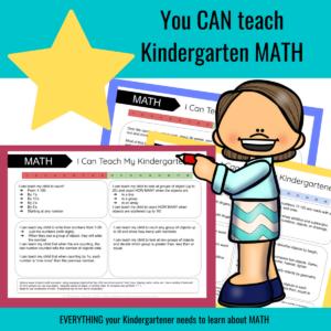 how to homeschool kindergarten