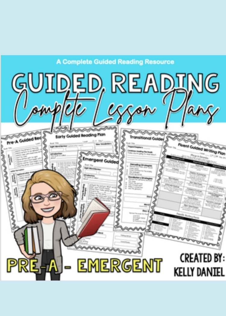 Collage of printable lesson plans