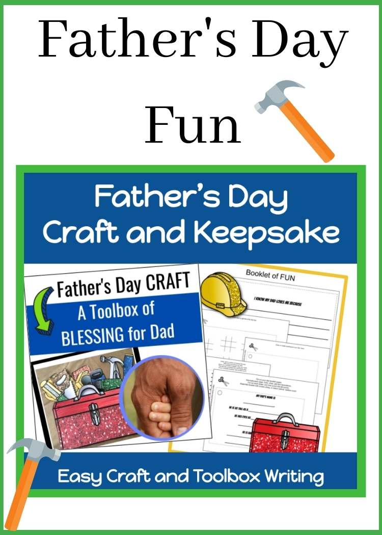 Collage of Father's Day printables