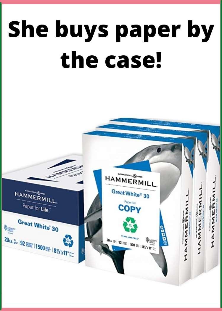 case of hammermill copy paper